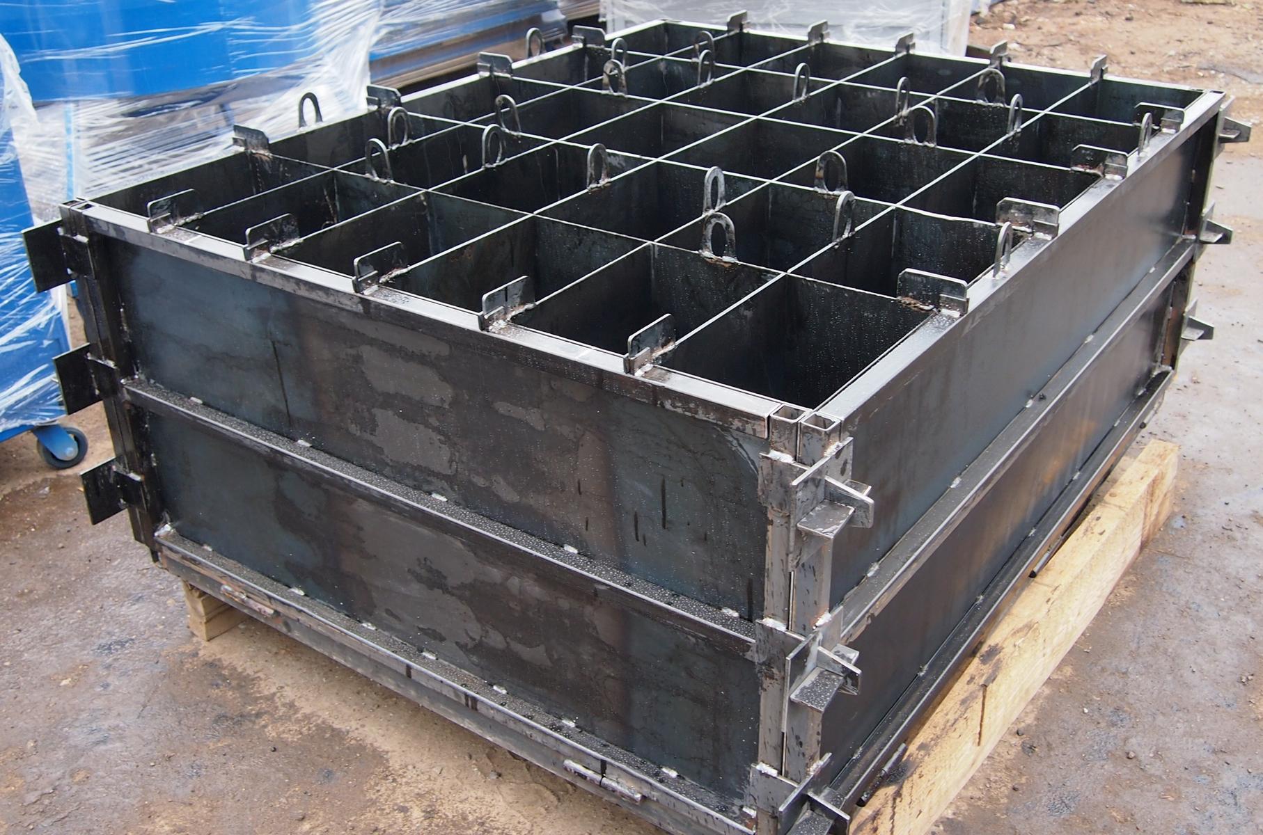 Форма для керамзитобетонных блоков своими руками