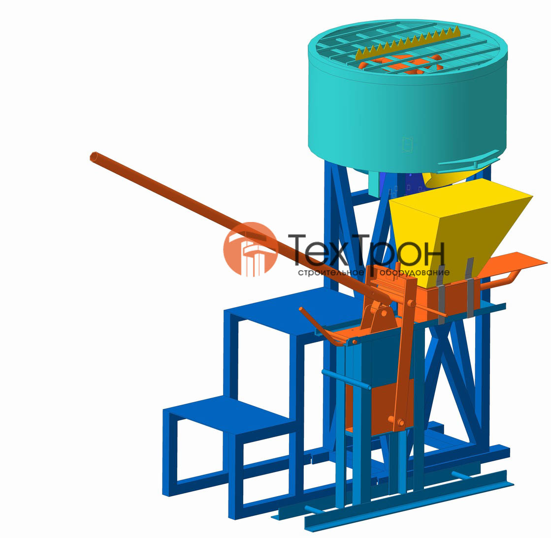 Оборудованиедля производства шлакоблоков кирпича и барьдюров б у битум гидроизоляция