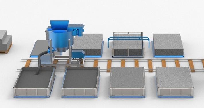 состав бетона для производства блоков:
