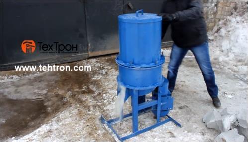 Дробилка для отходов газобетона конусная дробилка цена в Благовещенск